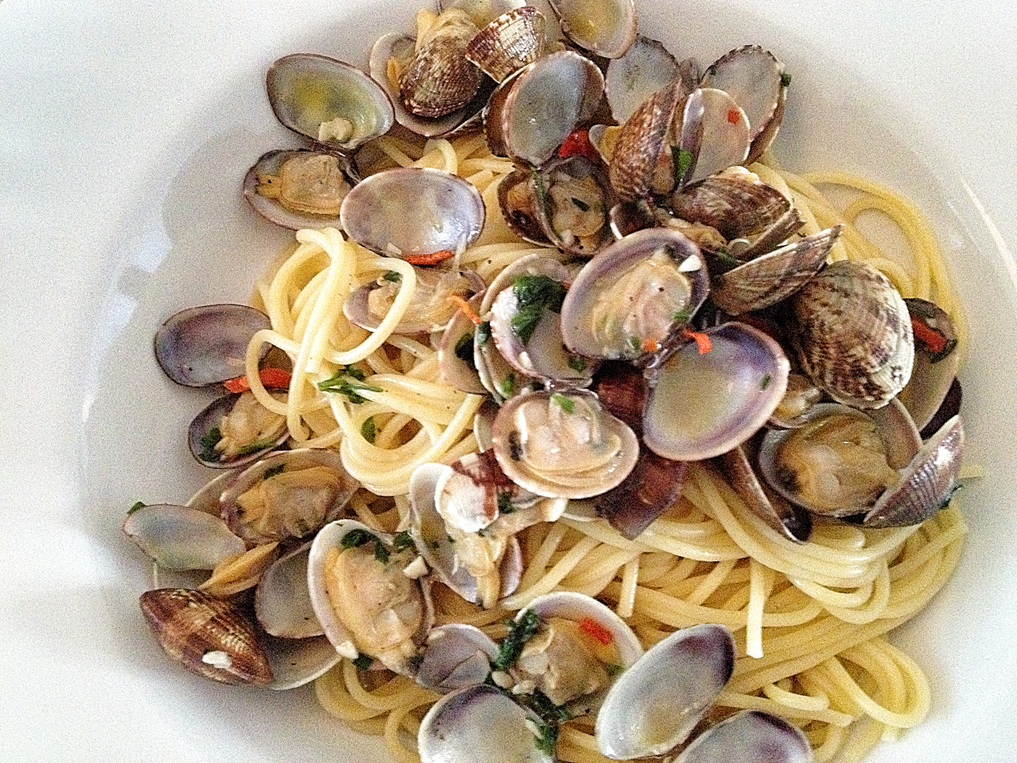 how to cook spaghetti vongole