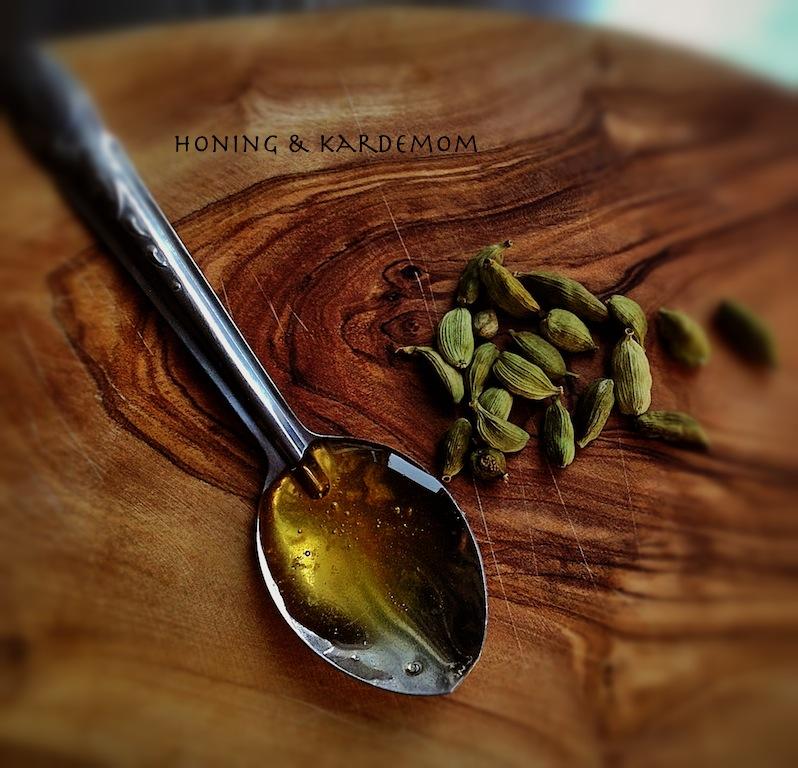 Honing en kardemom