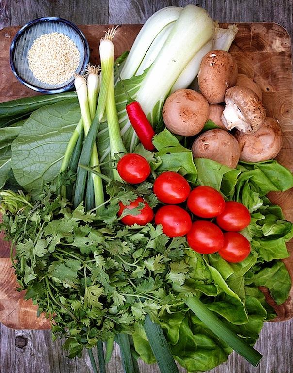 Floyd's salad ingrediënts