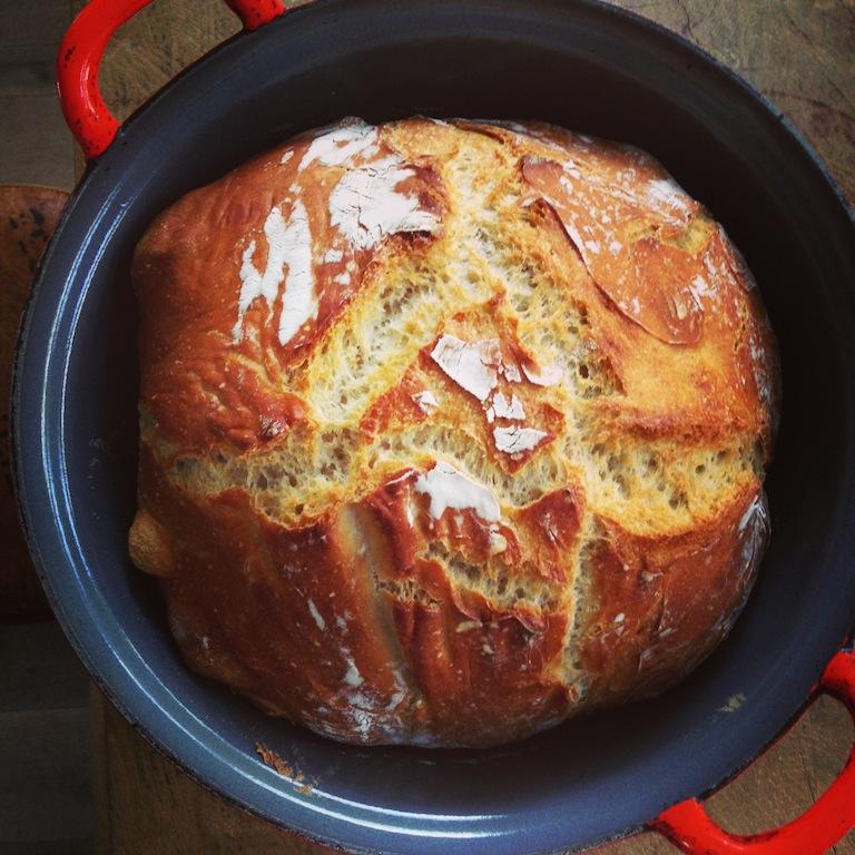brood bakken in oven