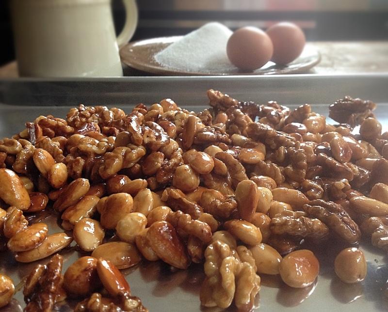 Parfait di Torrone honey nuts