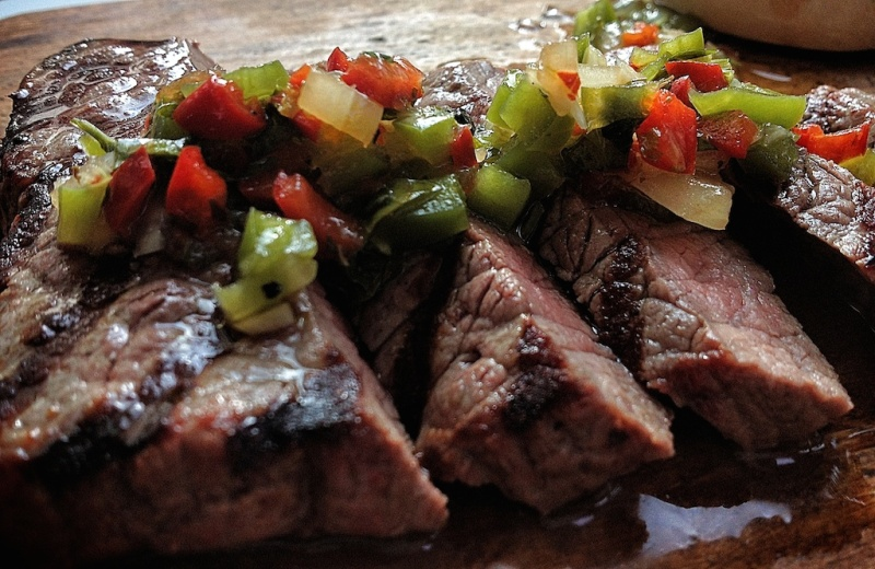 Chimichuri steak