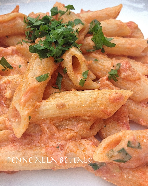 penne alla bettalo