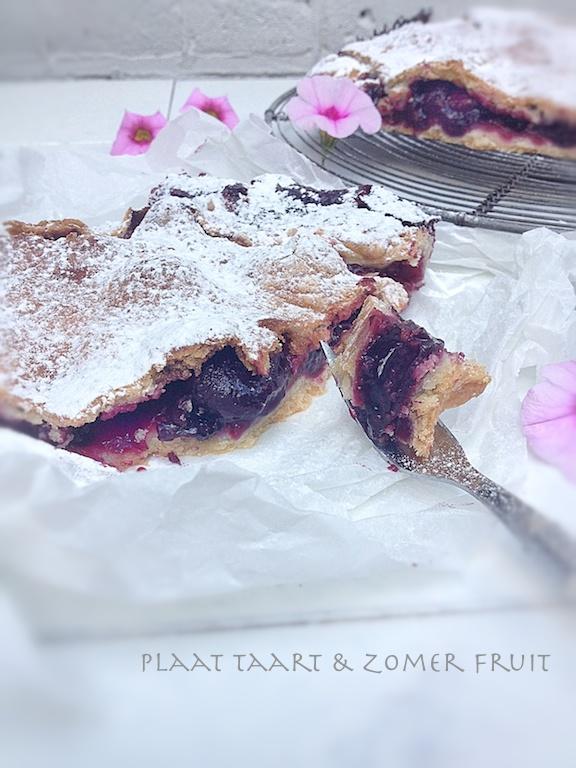 slab pie flower