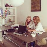Met Kim werken aan de nieuwe website