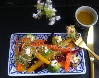 carrot avocado salad 2