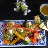 carrot avocado salad 2