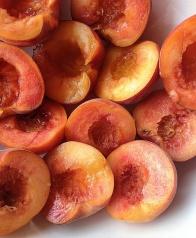 net geplukte perzikken