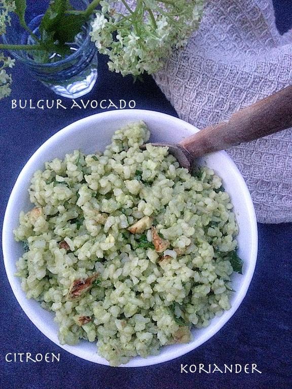 bulgur avocado