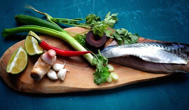 Basket Delights ingredients mackarel