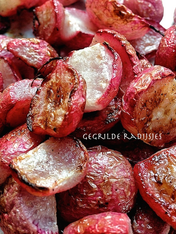 grilled radishes Basket Delights