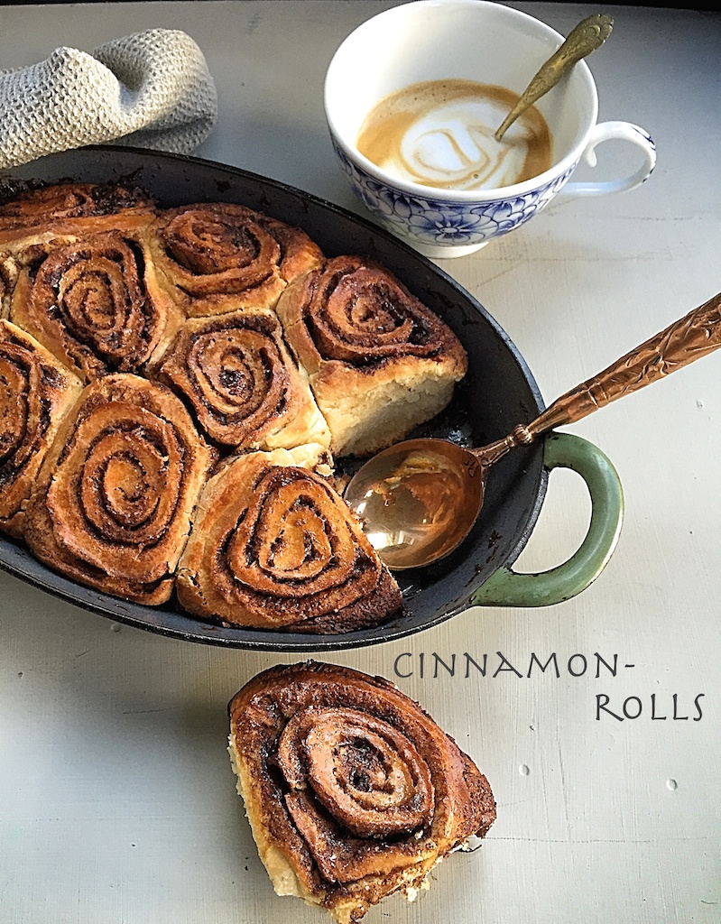 cinnamon roll - Basket Delights
