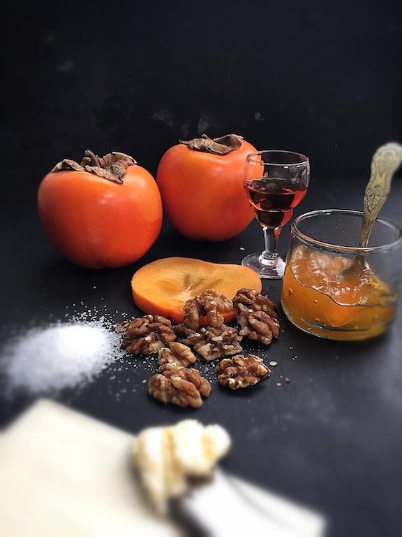 Persimmon ingrediënten - Basket Delights