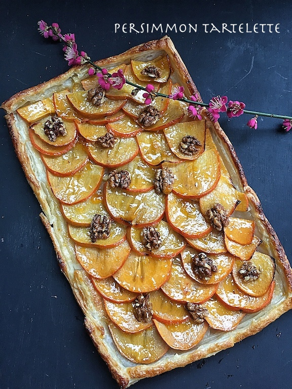 persimmon pie - basket delights