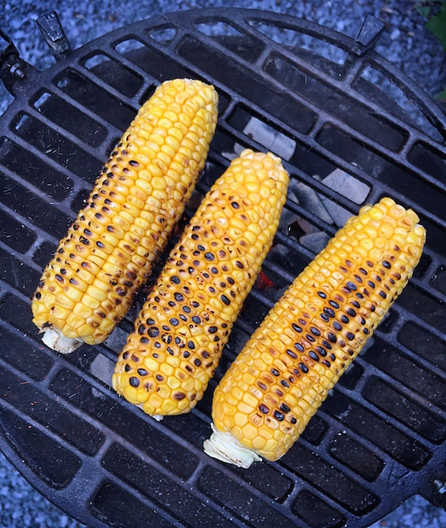 Grilled corn Basket Delights